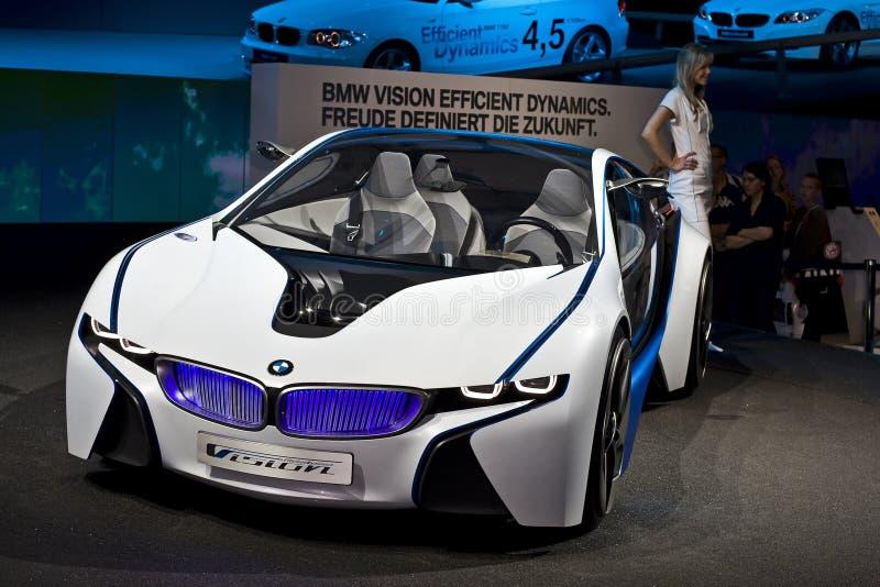 BMW-Konzeptauto stockfotografie