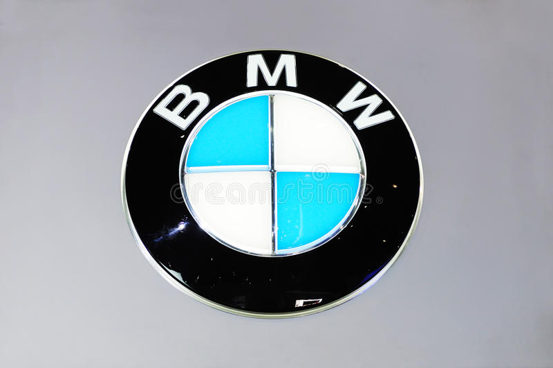 bmw logo obrazy royalty free