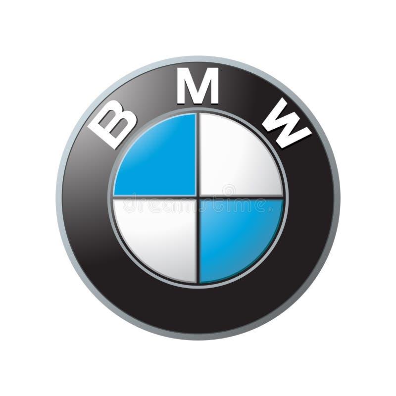 BMW Logo Vetora ilustração do vetor