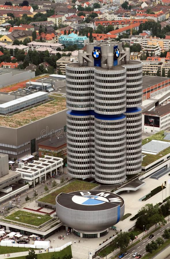 BMW München lizenzfreies stockbild