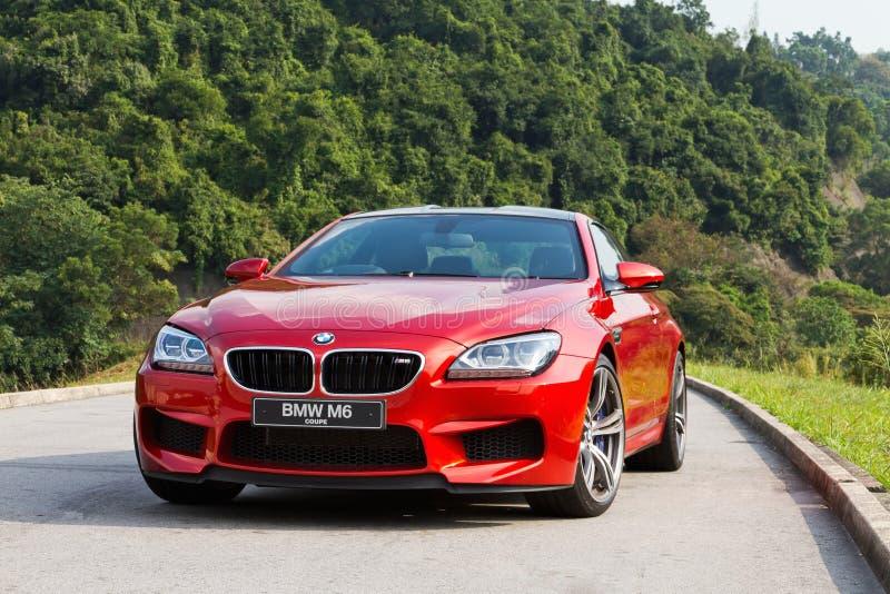 BMW M6小轿车2012年 免版税图库摄影