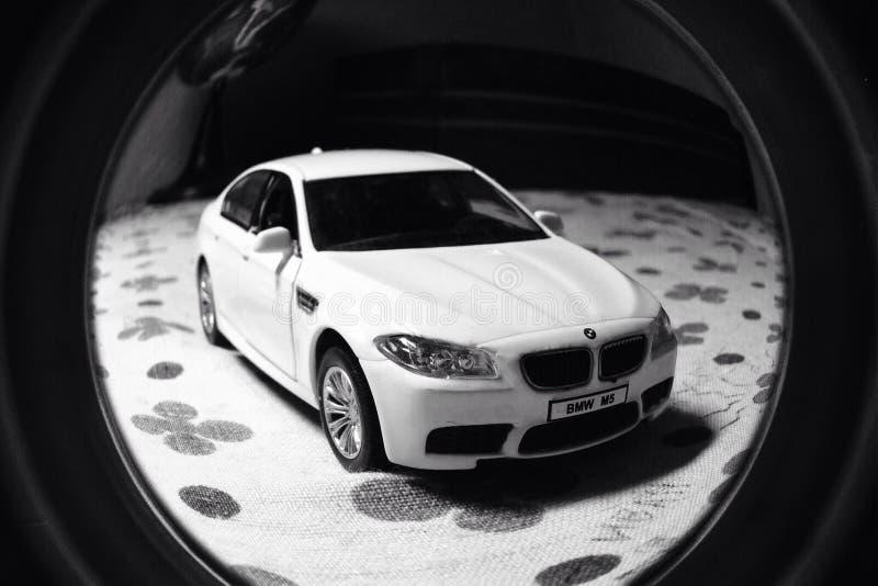 BMW M5模型 免版税库存照片
