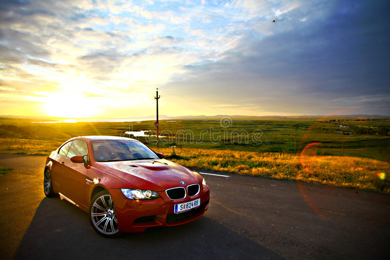 BMW M3 foto de stock royalty free