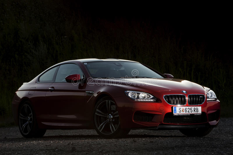 BMW M6 photos stock
