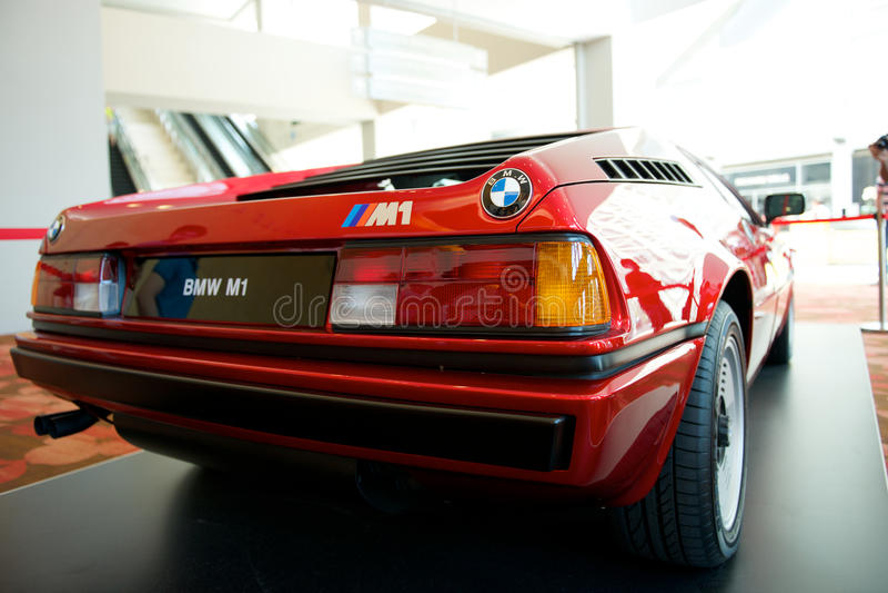 BMW M1 免版税图库摄影
