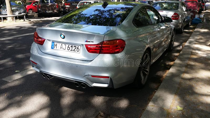 Bmw M4 royaltyfria foton
