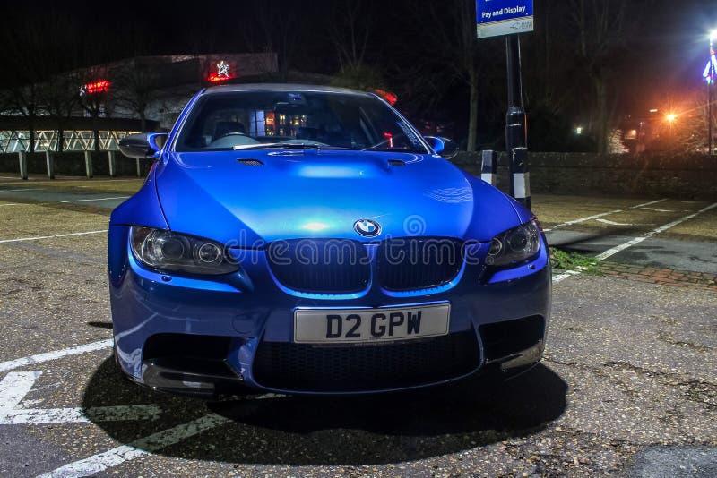 BMW M5 stockbilder