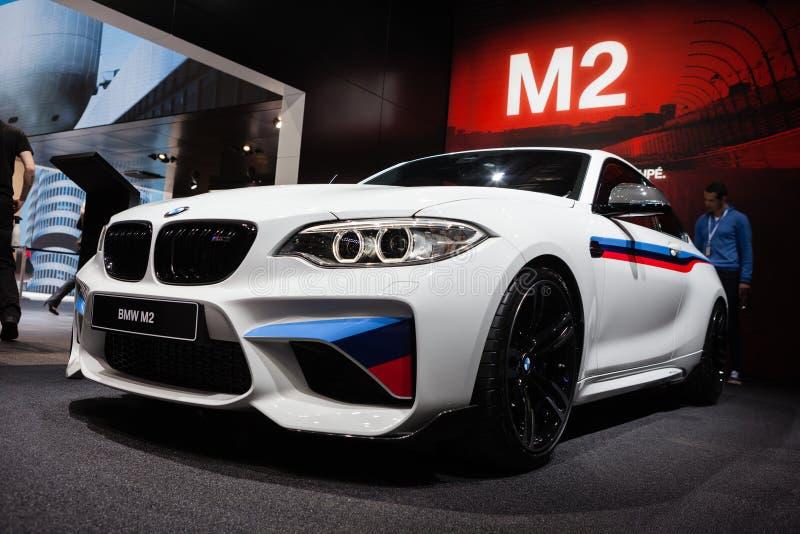 BMW M2 en Ginebra imagen de archivo