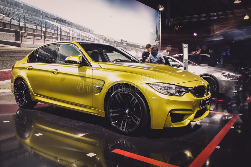 BMW M3 F80 photo libre de droits