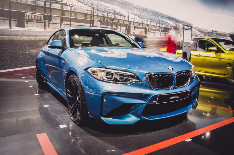 BMW M2 F87 royalty free stock photography