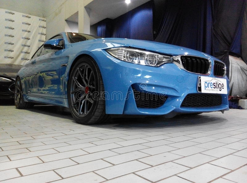 BMW M4 F82 stock photography