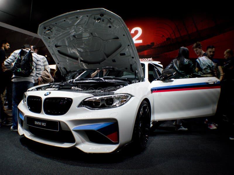 BMW M2 Ginebra 2016 imagen de archivo