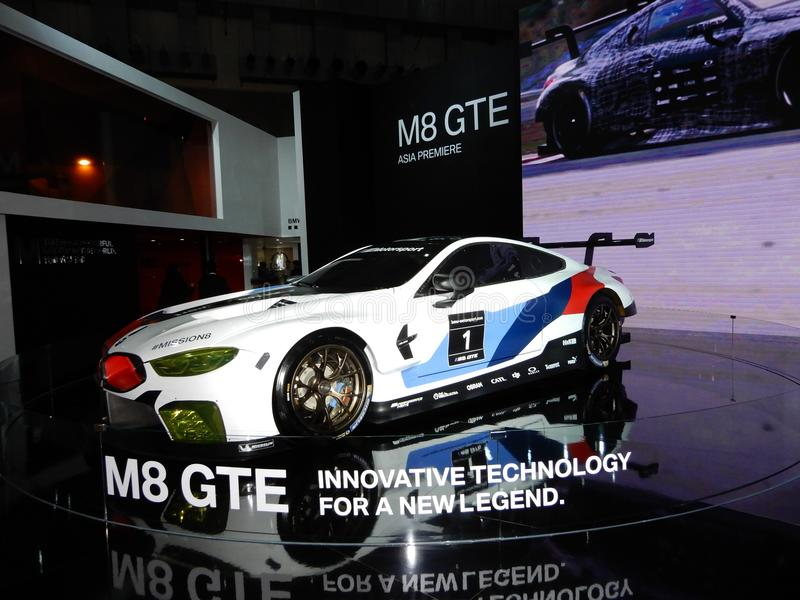 BMW M8 GTE sports car royalty free stock images