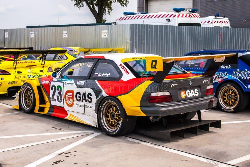 BMW M3 GTR royalty free stock photography