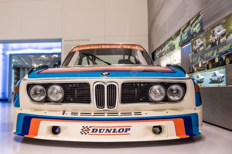 BMW M rywalizacja CSL - BMW muzeum obraz royalty free