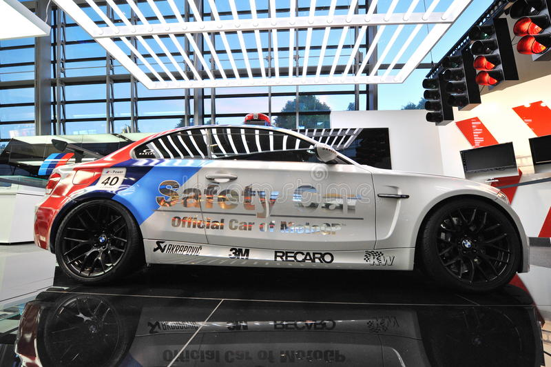 Download BMW 1M Safety Car On Display At BMW World Editorial Photo - Image: 33555481