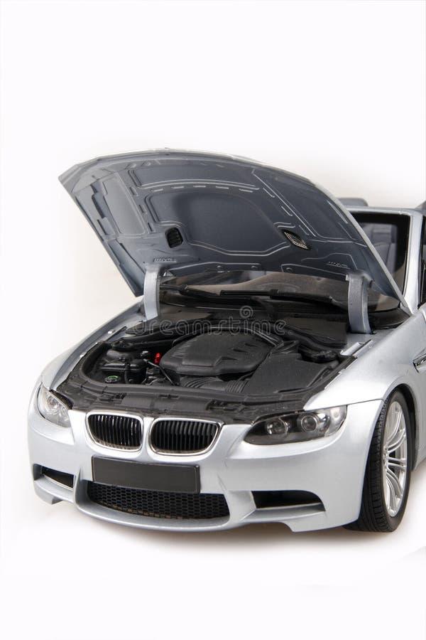 BMW M3 Bonnet Open Stock Photography