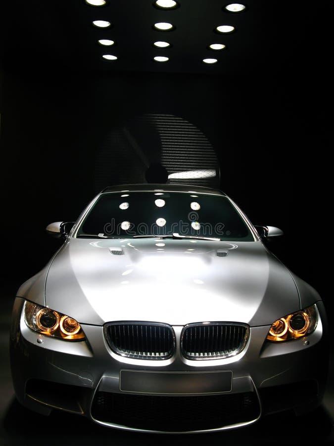 BMW M3 ostenta o carro do conceito imagens de stock