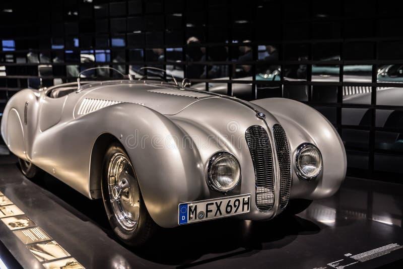 BMW 1939 328 Mille Miglia arkivbild