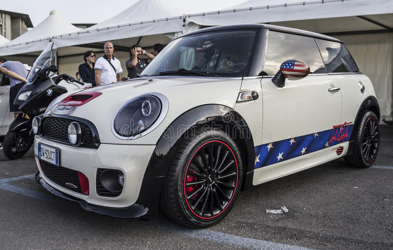 Bmw mini cooper special edition royalty free stock images