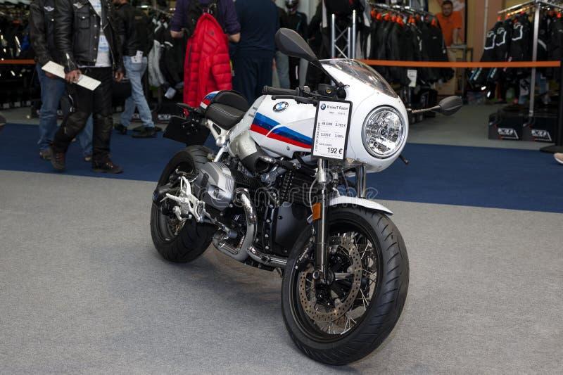 BMW Modelr negen t-Raceauto stock foto