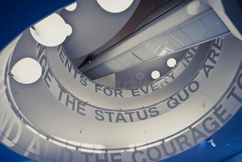 Download BMW Museum editorial stock photo. Image of germany, stairs - 25640243