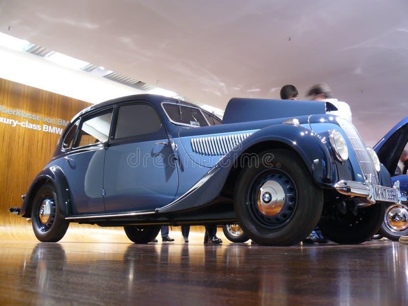 BMW museum royaltyfri bild