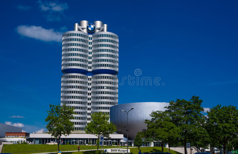 BMW Museum. At Munich, Germany stock photos