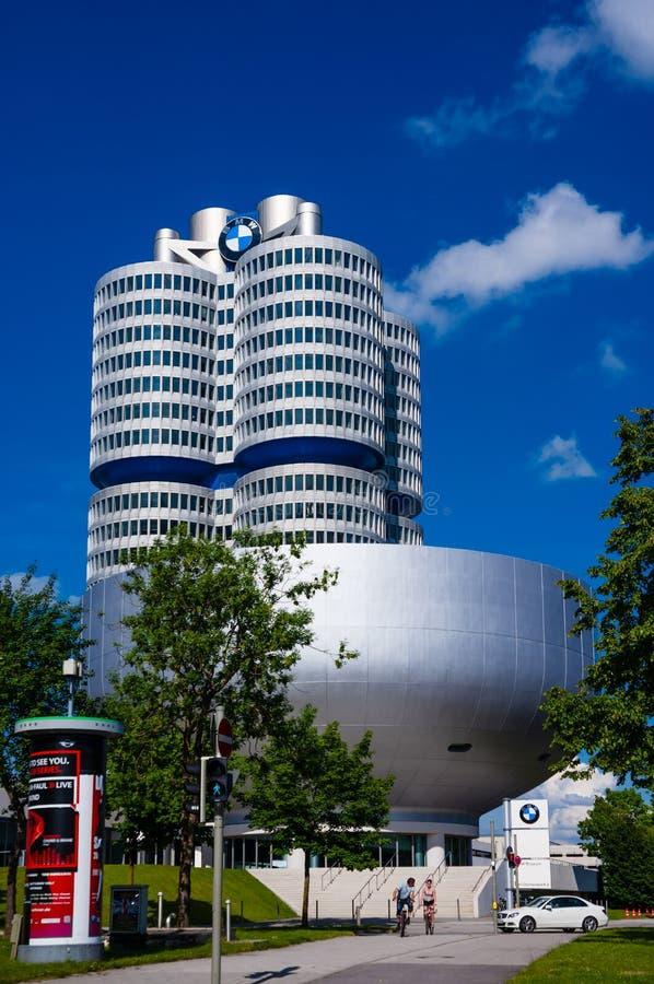 BMW Museum. At Munich, Germany stock photo
