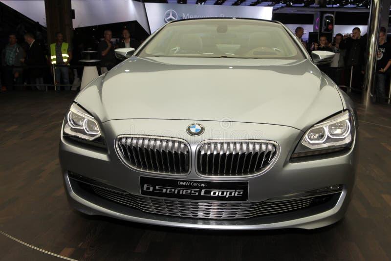 BMW novo cupé de 6 séries fotografia de stock royalty free