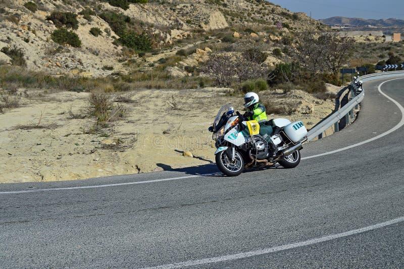 BMW-Polizei-Motorrad stockbild