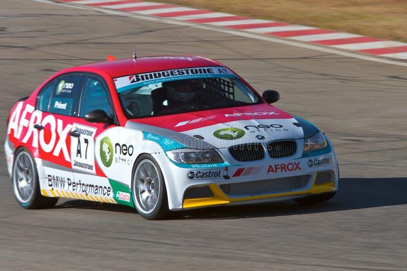 BMW Production Car Racing royalty free stock photo
