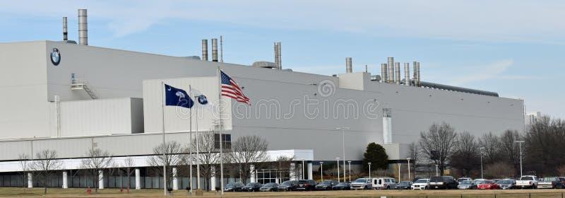 BMW que fabrica el SC automotriz de Greer del fabricante fotografía de archivo libre de regalías