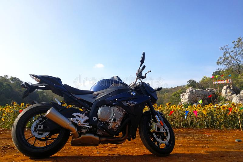 BMW S1000R 2015 model obraz stock