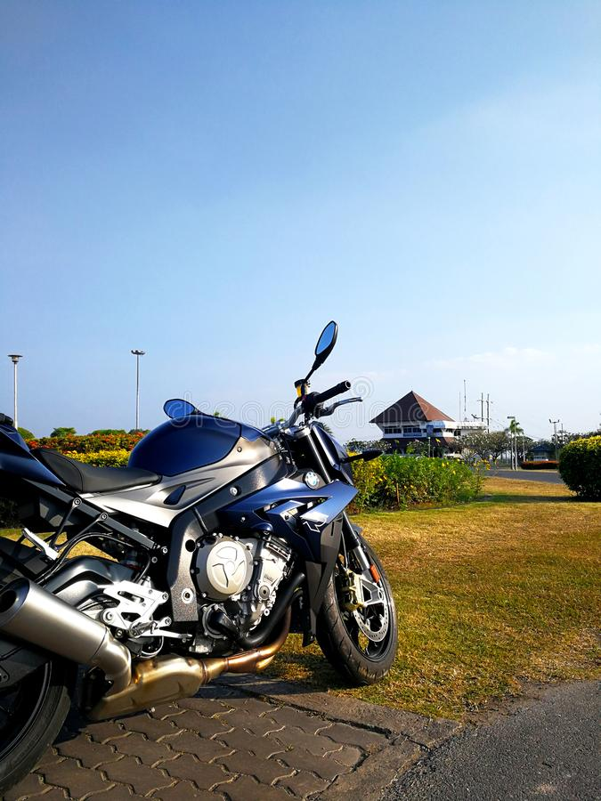 BMW S1000R 2015 model obraz royalty free