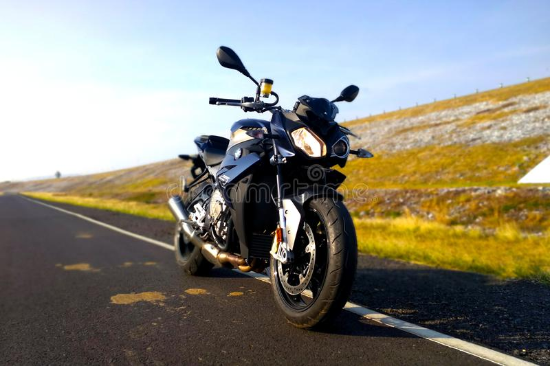 BMW S1000R 2015 model zdjęcia royalty free