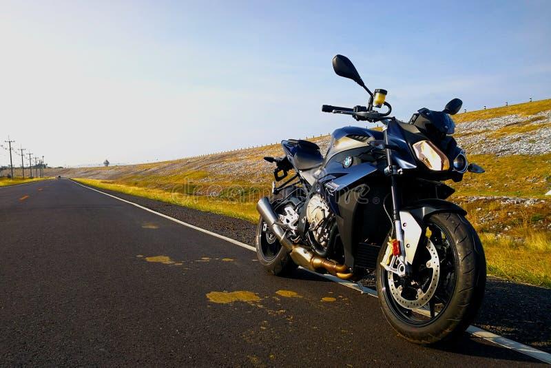 BMW S1000R 2015 modell fotografering för bildbyråer