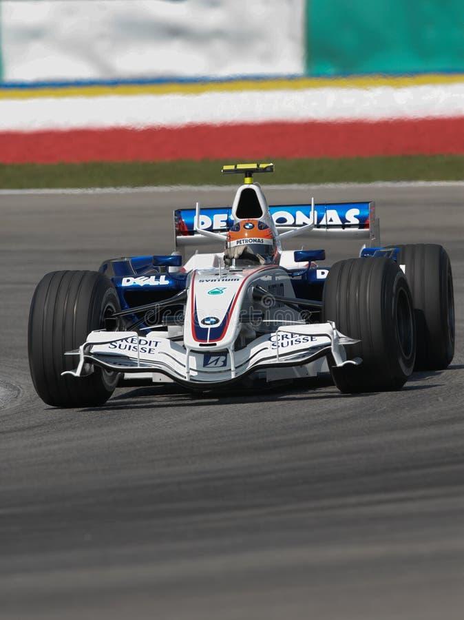 BMW Sauber F1 Team Robert Kubica F1. 07 Polish Pola stock photos