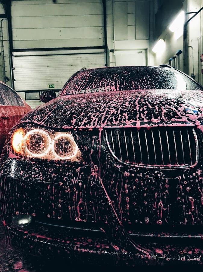 BMW-Schuim royalty-vrije stock foto