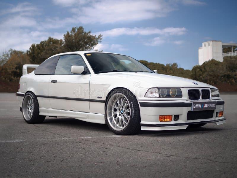 BMW 3-seriens Compact 323ti E36/5 arkivfoton