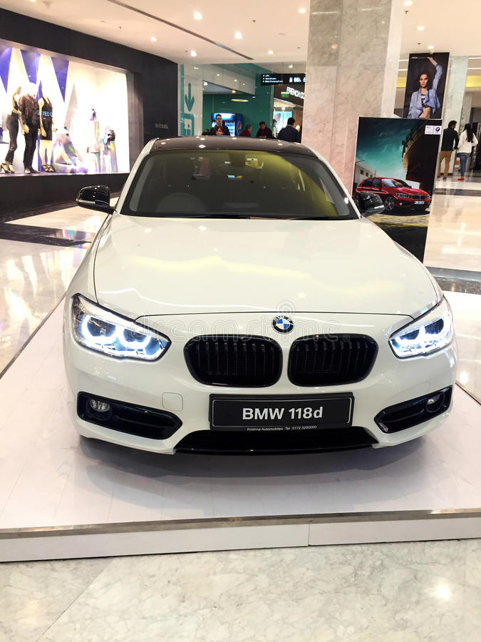 Bmw 1 series car royalty free stock photos