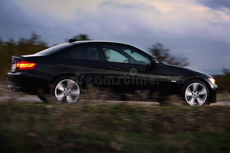 BMW 3 series, E92 stock images