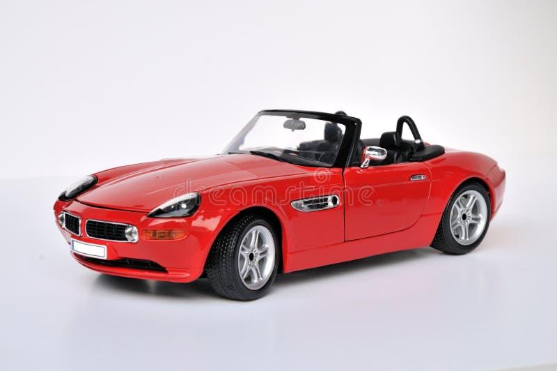 BMW Sports Car. A BMW convertible sports car stock photos