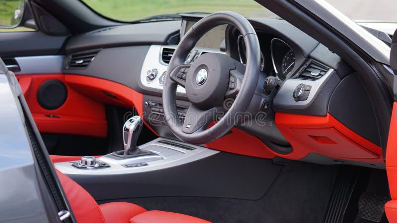 Bmw Sports Car Interior Free Public Domain Cc0 Image