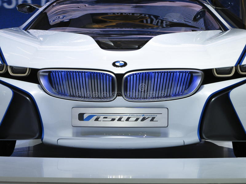 Download BMW Vision Efficient Dynamics Concept Car Editorial Image - Image of automotive, event: 21296585