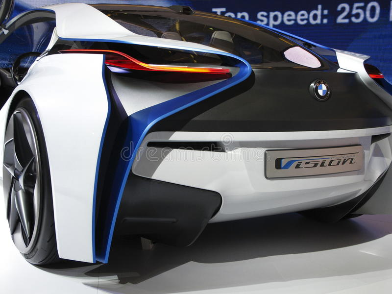 Download BMW Vision Efficient Dynamics Concept Car Editorial Stock Photo - Image: 21296608