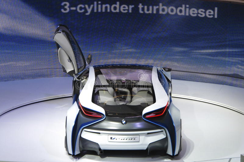 Download BMW Vision Efficient Dynamics Concept Car Editorial Stock Photo - Image: 21296633
