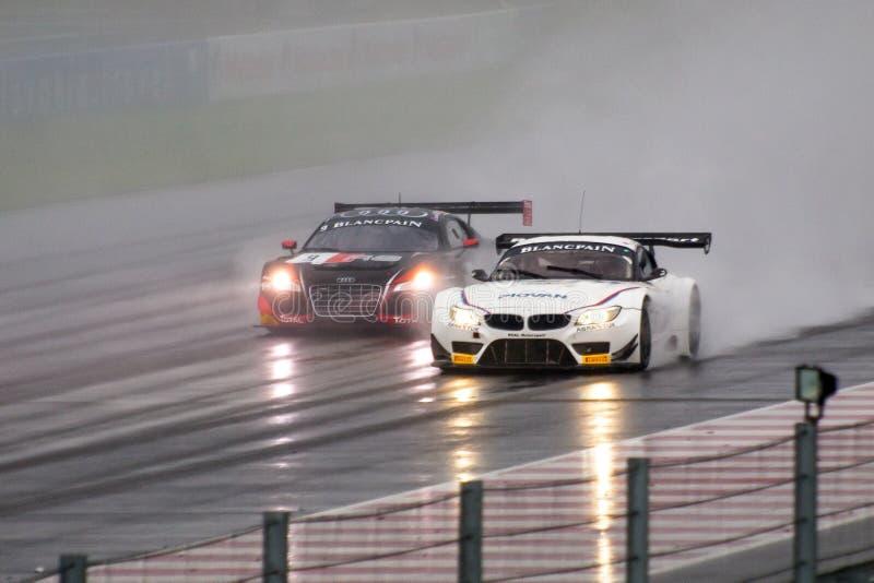 BMW vs. Audi stock images