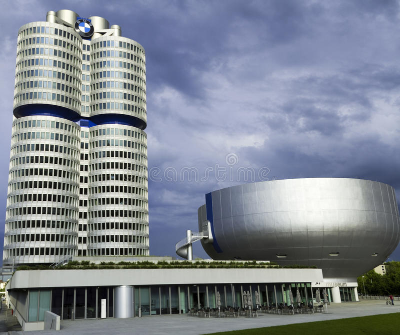 BMW Welte royalty-vrije stock afbeelding