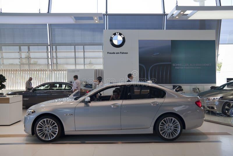 BMW-wereld stock foto